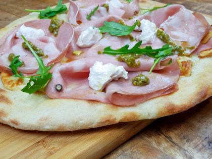 Pinsa/Pizza Mortazza
